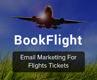 Email Marketing For Air Tickets Travel Agents