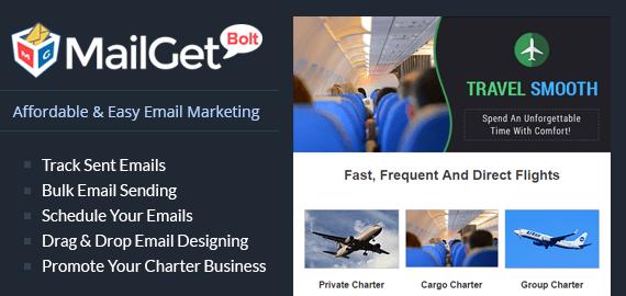 Email Marketing For Charter Slider