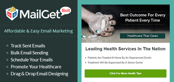 Email Marketing For Healthcare Slider