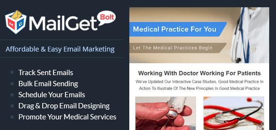 Email Marketing For Medical Services Slider