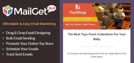 Email Marketing For Online Toys Sellers Slider