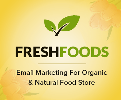 Email Marketing For Organic & Natural Food Store - Thumb