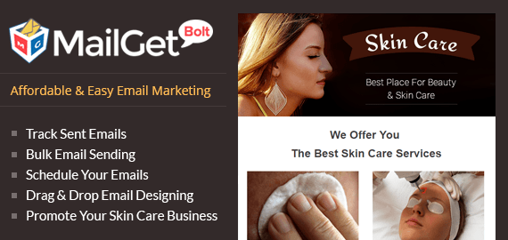 Email Marketing For Skin Care Clinics Slider