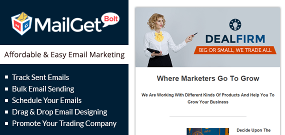 Email Marketing For Trading & Business Companies