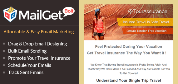 Email Marketing For Travel Insurance Companies Slider