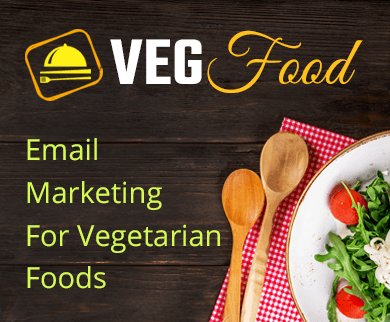 MailGet Bolt – Email Marketing For Vegetarian Foods & Vegan Restaurants