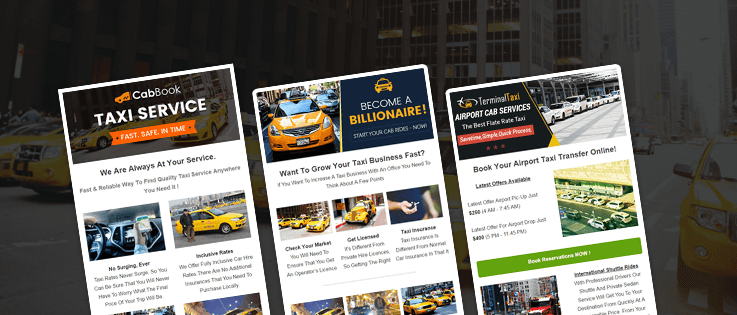 9+ Best Email Templates For Taxi Services & Cab Companies