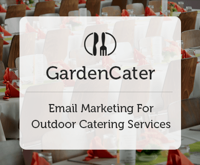 MailGet Bolt – Email Marketing For Outdoor Catering Services & Food Services