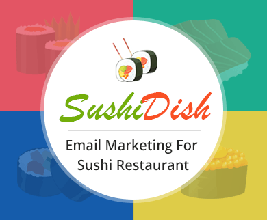 Email Marketing For Sushi Restaurant