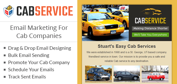 Email Marketing For Cab Companies Slider Image