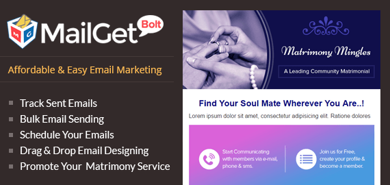 Email Marketing For Matrimonial Services