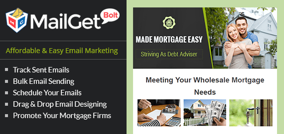 Email Marketing For Mortgage Companies, Loan & Finance Agencies