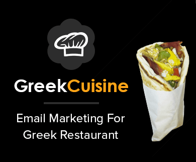 MailGet Bolt – Email Marketing for Greek Restaurants & Mediterranean Diner