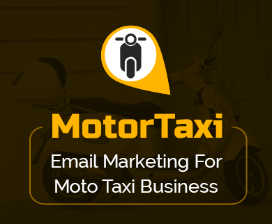 MailGet Bolt – Email Marketing For Moto Taxi Agencies & Car Rental Groups