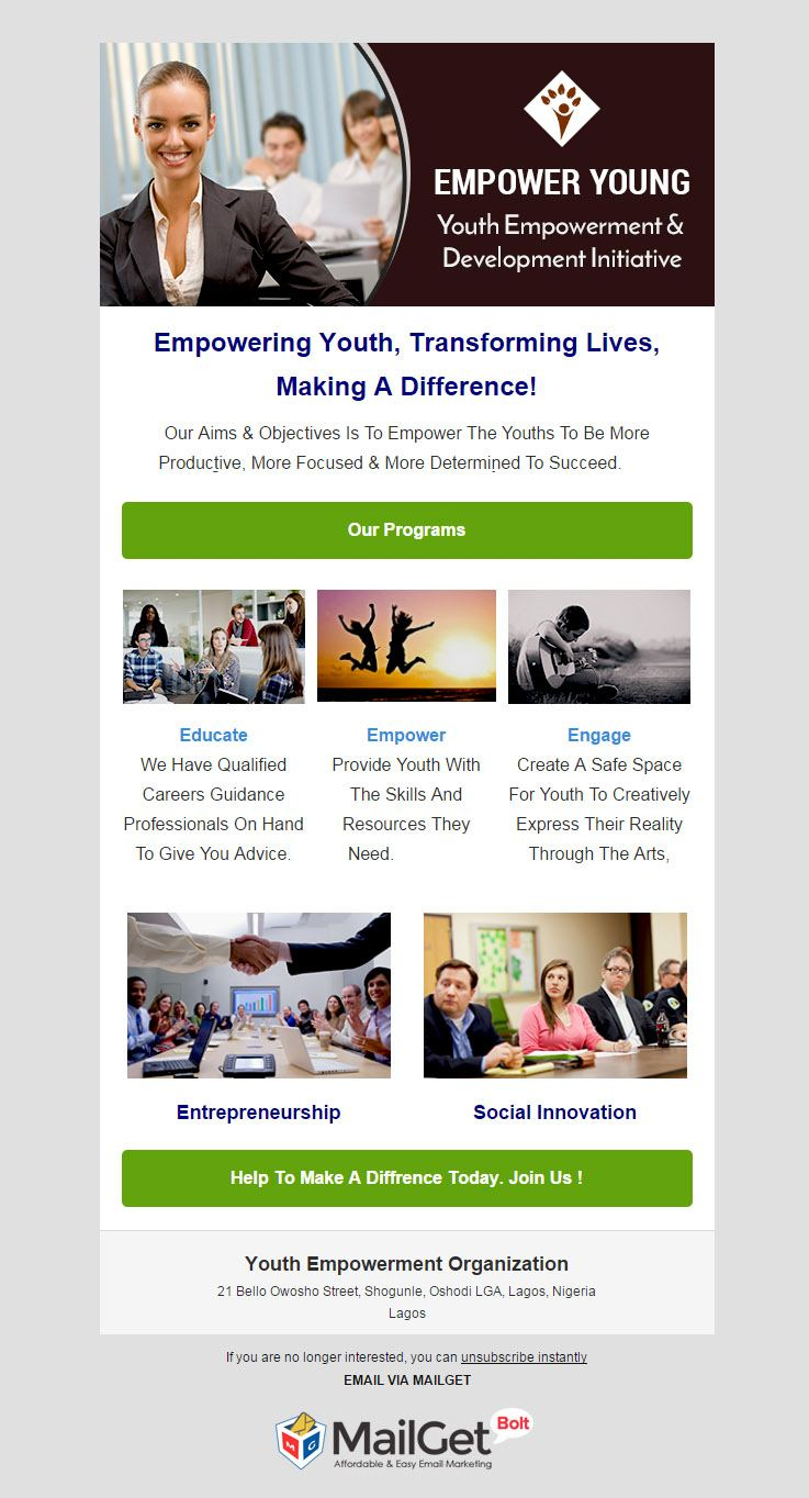Youth Empowerment Organization
