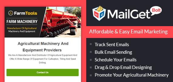 Agri Machine Email Marketing Service