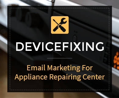 Appliance Repairing Email Marketing Service Thumb