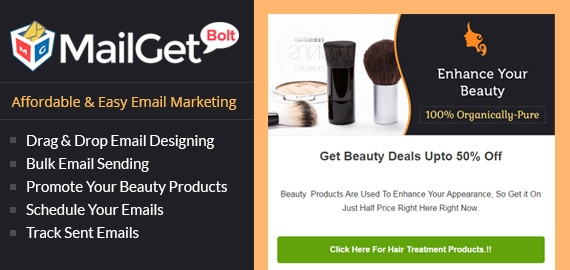 Beauty Product Slider