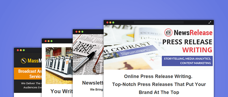 News Agencies Email Marketing Services