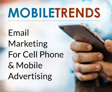 CELL PHONE ADVERTISING EMAIL MARKETING SERVICE FOR MOBILE & GADGET SHOPS Thumb Design