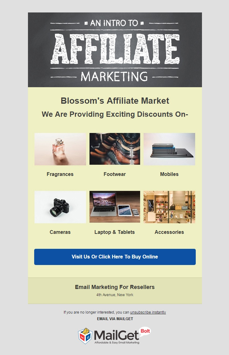 Email Template For Resellers
