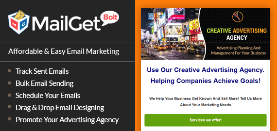 Advertising Agency Email Marketing Service