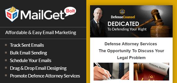 Defense Attorney Email Marketing Service slider