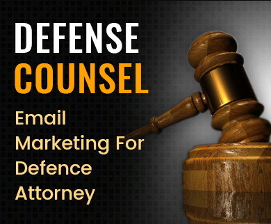 Defense Attorney Email Marketing Service Thumb