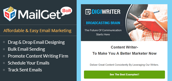 Email Marketing For Content Writers Slider