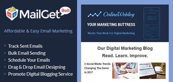 Email Marketing For Digital Marketing Blogger Slider