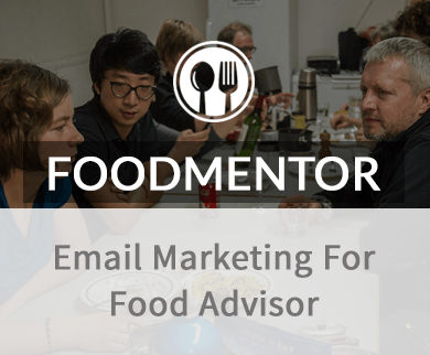 Email Marketing For Food Advisers thumb image