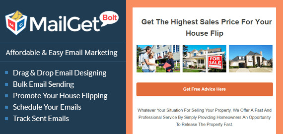 Email Marketing For House Flipping -Slider