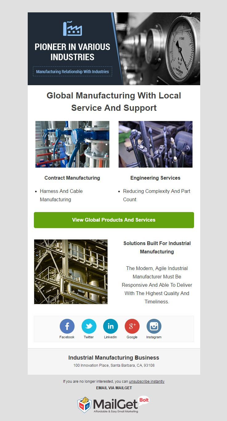 Email Marketing For Industrial Manufacturing Businesses