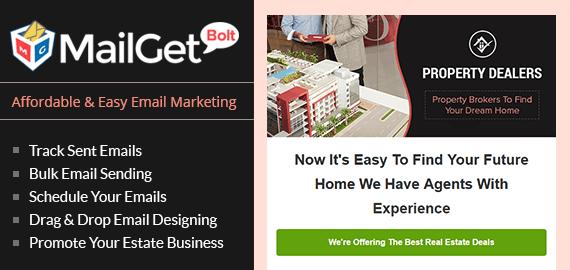 Email Marketing For Real Estate Broker Slider Image