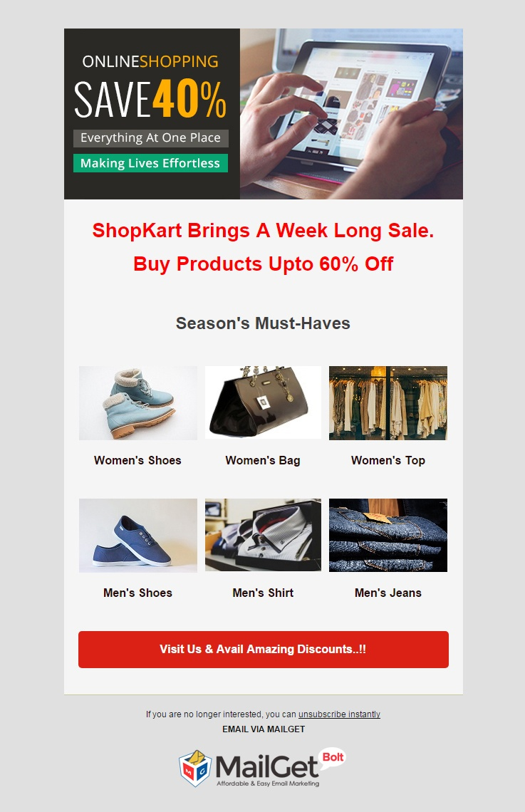 Email Marketing For eCommerce Businesses & Online Shopping