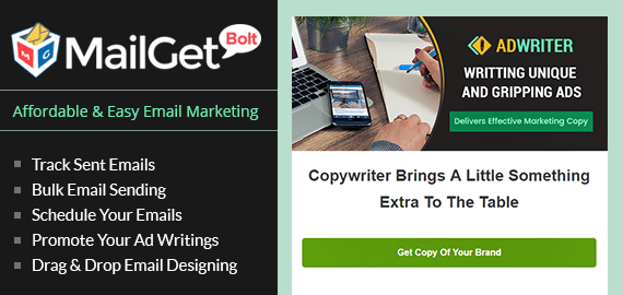 Email Marketing Service For Advertising Writers & Commercial Authors