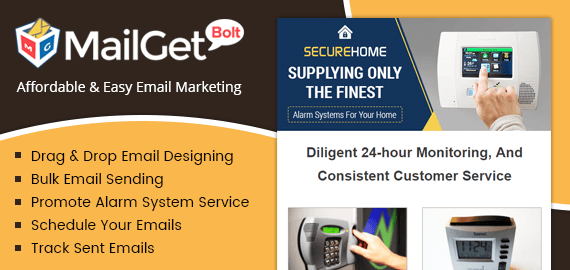 Email Marketing Service For Alarm System Service