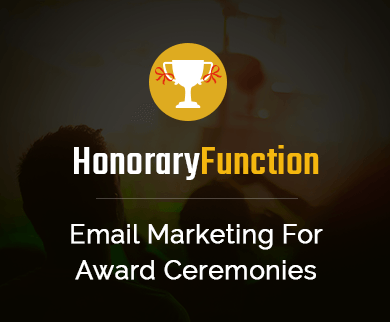 Email Marketing Service For Award Ceremonies Thumb