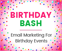 MailGet Bolt – Email Marketing Service For Birthday Party & Anniversaries Organizers