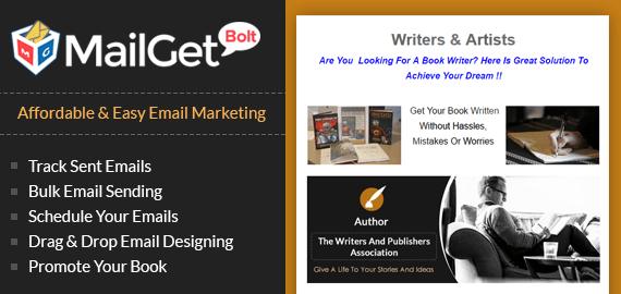 Email Marketing Service For Books Slider