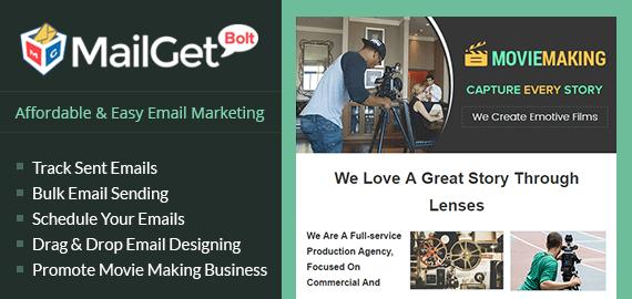 Email Marketing Service For Cinematographers Slider