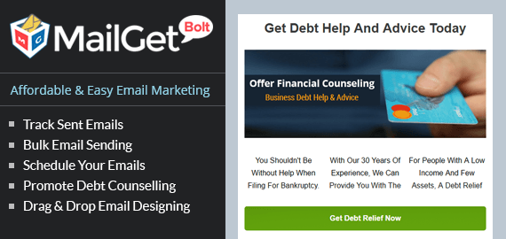 Email Marketing Service For Debt Counselling Centers