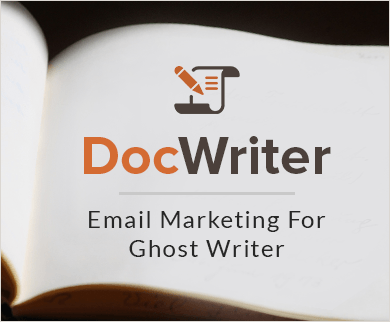 Email Marketing Service For Ghost Writers & Document Writer