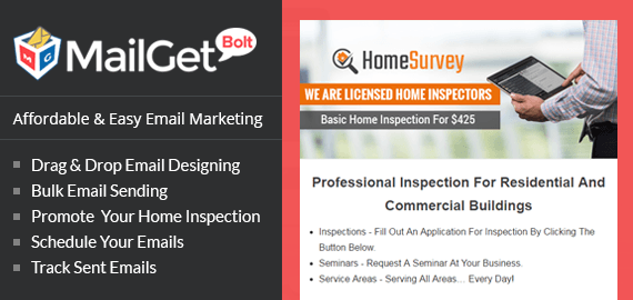 Email Marketing Service For Home Inspection & Assessment Agencies