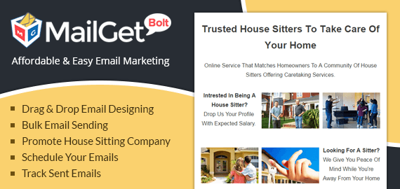 Email Marketing Service For House Sitting & Caretakers
