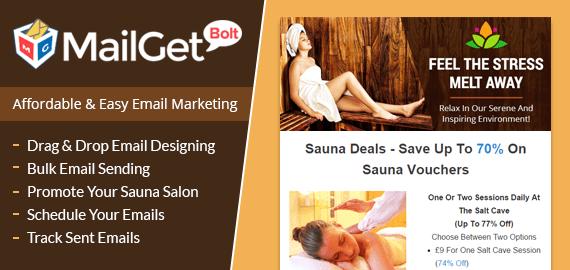 EMAIL MARKETING SERVICE FOR SAUNA & STEAM BATH SALON