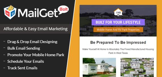 Email Marketing Service For Mobile Home Parks Slider