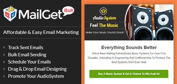 Email Marketing For Music & Audio System Stores