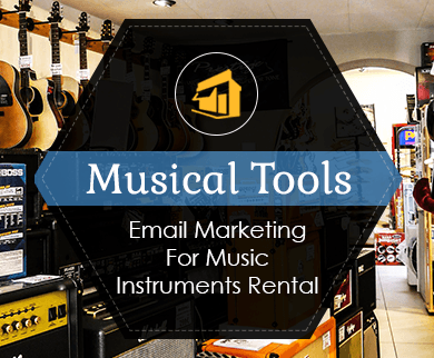 MailGet Bolt –  Music Instruments Rental Email Marketing Service For Acoustic Equipments