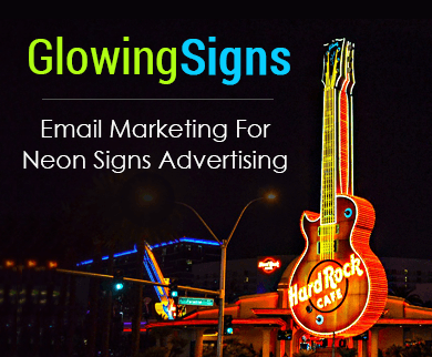 MailGet Bolt – Neon Signs Email Marketing Service For Light Display Billboards
